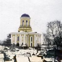 1970 год. Реставрация Никольского храма., Нарофоминск