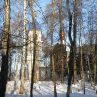 Нахабино, МО. Храм Святого Даниила. Зима. Svyatogo Daniila chruch. Winter, Нахабино