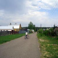 в деревне, Некрасовка