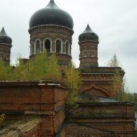 Церковь Троицы Живоначальной. Со 2 этажа колокольни., Некрасовка