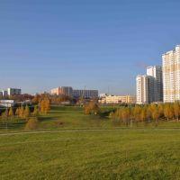 Москва,  Митинский  парк,  ул. Барышиха., Новобратцевский