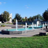 Площадь фонтанов., Ногинск