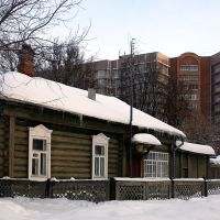 Noginsk coutryside were old and new cohabit, Ногинск