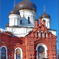 Ногинск. Церковь Тихвинской иконы Божией Матери (фрагмент), Ногинск
