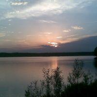 Закат над озером, Обухово