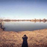панорама озера Мутное в Балобаново, Обухово