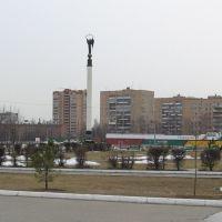 Вид на площадь  /  View on square, Одинцово