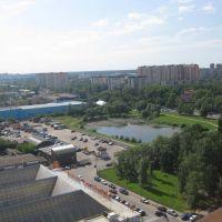 пруд сверху, Одинцово