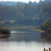 river Oka, Озеры