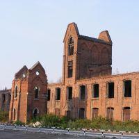 Руины промышленных зданий, Озеры