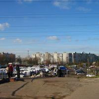Вид на Центральный рынок, Орехово-Зуево
