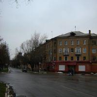 Перекрёсток Красноармейской, Бирюкова, Галочкина, Орехово-Зуево