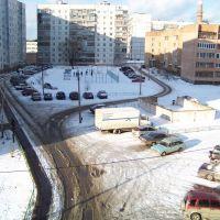 Парковская вид из окна, Орехово-Зуево