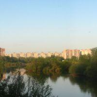 Мадонский микрорайон (вид с противоположного берега Клязьмы), Орехово-Зуево