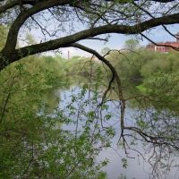 Вид со старого моста, Орехово-Зуево