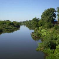 С моста через Клязьму, Орехово-Зуево