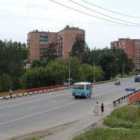 мост через Ворю, Привокзальный
