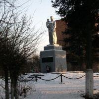 монумент погибшим жителям в ВОВ, Пролетарский