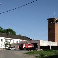 здание пожарной охраны, Пролетарский