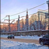 Морозный вечер., Пушкино