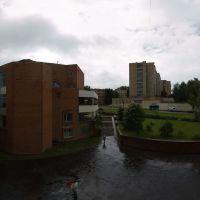 Вид с балкона ДАС (29.06.2008), Пущино