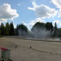 Фонтан (28.06.2008), Пущино