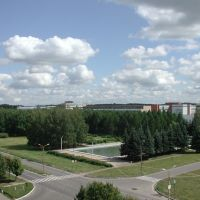 From the balcony of my ITEB flat (Ab-1), Пущино