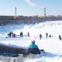 Борисоглебское озеро зимой, Раменское