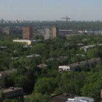 Вид на север из Реутова (с ул. Парковая), Реутов