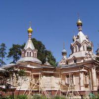 Свято-Троицкий храм (деревянный), 1897, Родники