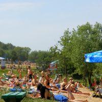 On the beach (пляж Мякинино), Рублево