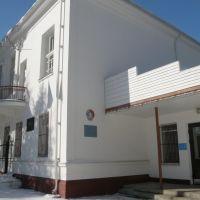 Рублево. Контора Рублевского водозабора. Office Rublevskogo waterworks, Рублево