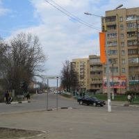 Светофор у администрации / Traffic light at Administration, Руза
