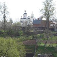Вид на Храм Дмитрия Солунского / View on Dmitry Solunsky Temple, Руза