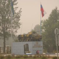 Дымовая завеса над десантурой, Руза