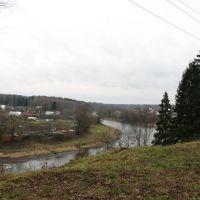 Ruza river, Руза