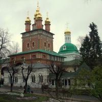 Надвратная церковь Рождества св. Иоанна Предтечи., Сергиев Посад