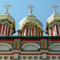 torres y cúpulas del monasterio de la trinidad II, Сергиев Посад