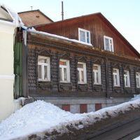 Чешуйчатый дом в Овражном перeyлке, Сергиев Посад