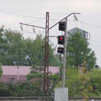 """Входной светофор """"Н"""" ст.Серебряные Пруды, Серебряные Пруды"""