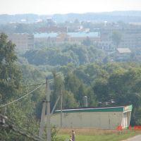 Вид на поселок из ПТУ, Серебряные Пруды