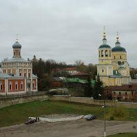 церкви Успения, Ильи, Троицы, Серпухов