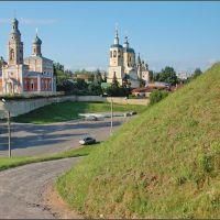 Серпухов. Вид с Красной горы (Старый торг), Серпухов