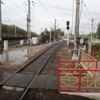 Станция Софрино, Вид в сторону Красноармейска, Софрино