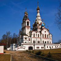 Temple in Dolgoprudny, Apr-2010., Старбеево