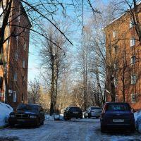 Дворик на месте парка усадьбы Петровское-Лобаново, Старбеево