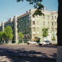 Перекрёсток улиц Андропова и Пушкина  /  Crossroads of streets Andropov and Pushkin, Ступино