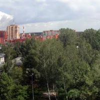 Панорама из окна, Ступино