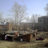 Вид с балкона, Текстильщик