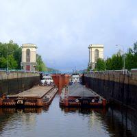 Канал им.Москвы шлюз№2 -шлюзование, Темпы